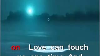 My heart will go on, Céline Dion, karaoke playback instrumental