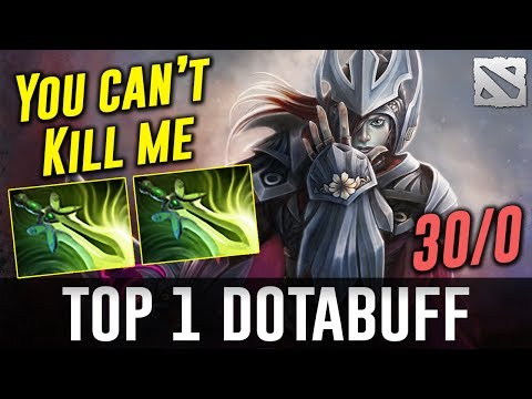 TOP 1 DOTABUFF Phantom Assassin 30/0 Dota 2