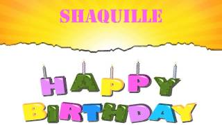 Shaquille   Wishes & Mensajes - Happy Birthday