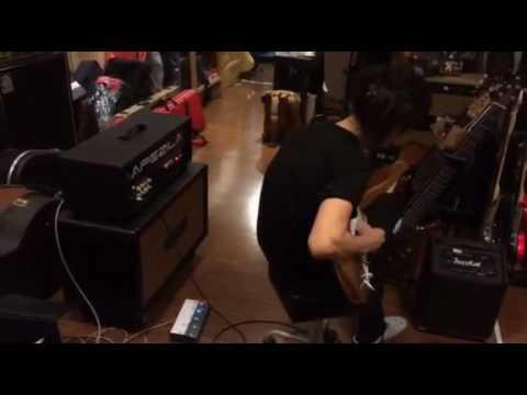 APEZILA tube amp Drive channel @Guitar LAB RCA
