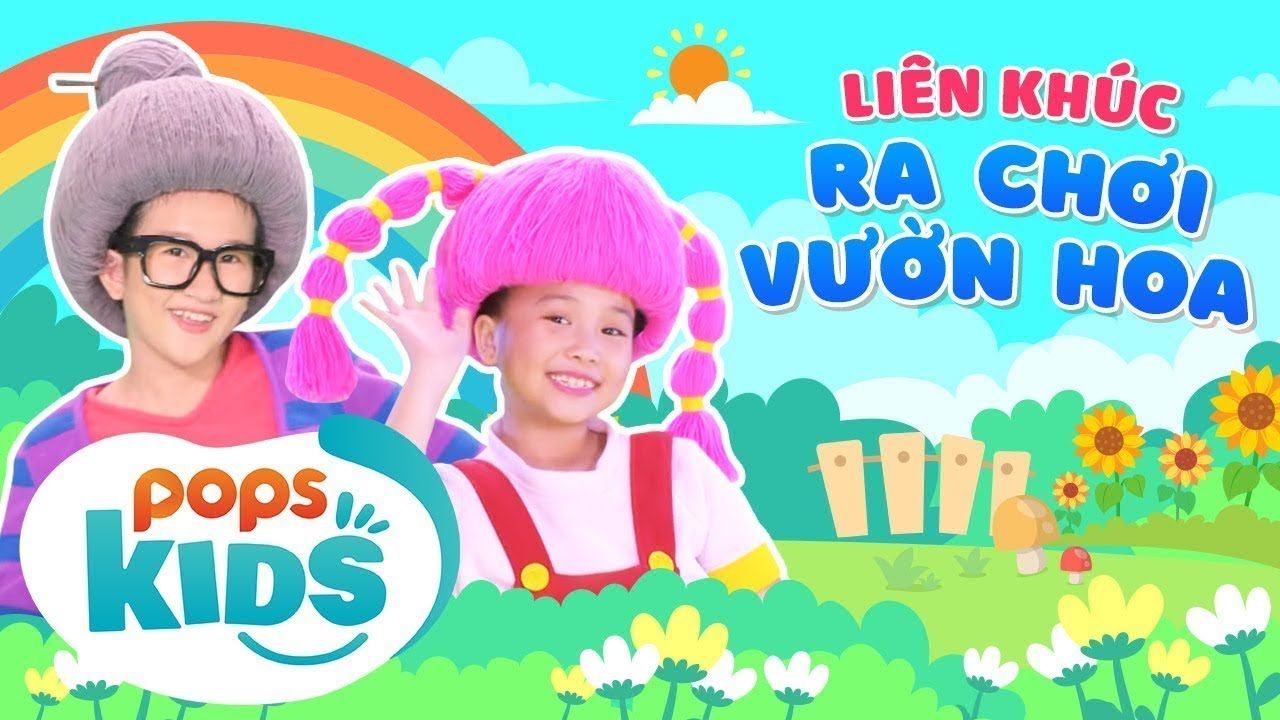 Mầm Chồi Lá - Liên Khúc Ra Chơi Vườn Hoa - Nhạc Thiếu Nhi Sôi Động |Vietnamese Kids Song