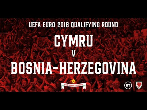 Cymru v Bosnia & Herzegovina 10.10.14 (EURO 2016 Qualifying Round Full Re-run)
