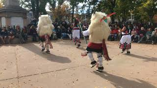 Indigenous Peoples Day Celebration 2017 - Laguna and Hopi Buffalo Dancers Clip 2