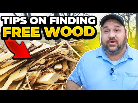 Download Tips on Finding Cheap and Free Wood for your next Woodworking or DIY Project
