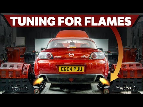 Tuning My Rebuilt Mazda RX-8 For Flames