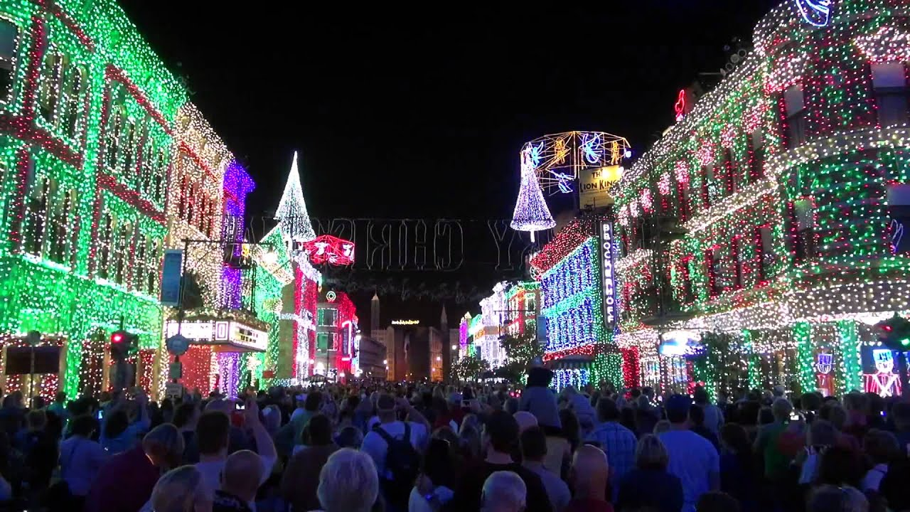 Osborne Family Spectacle of Dancing Lights 2013 - Glow with the Show - YouTube