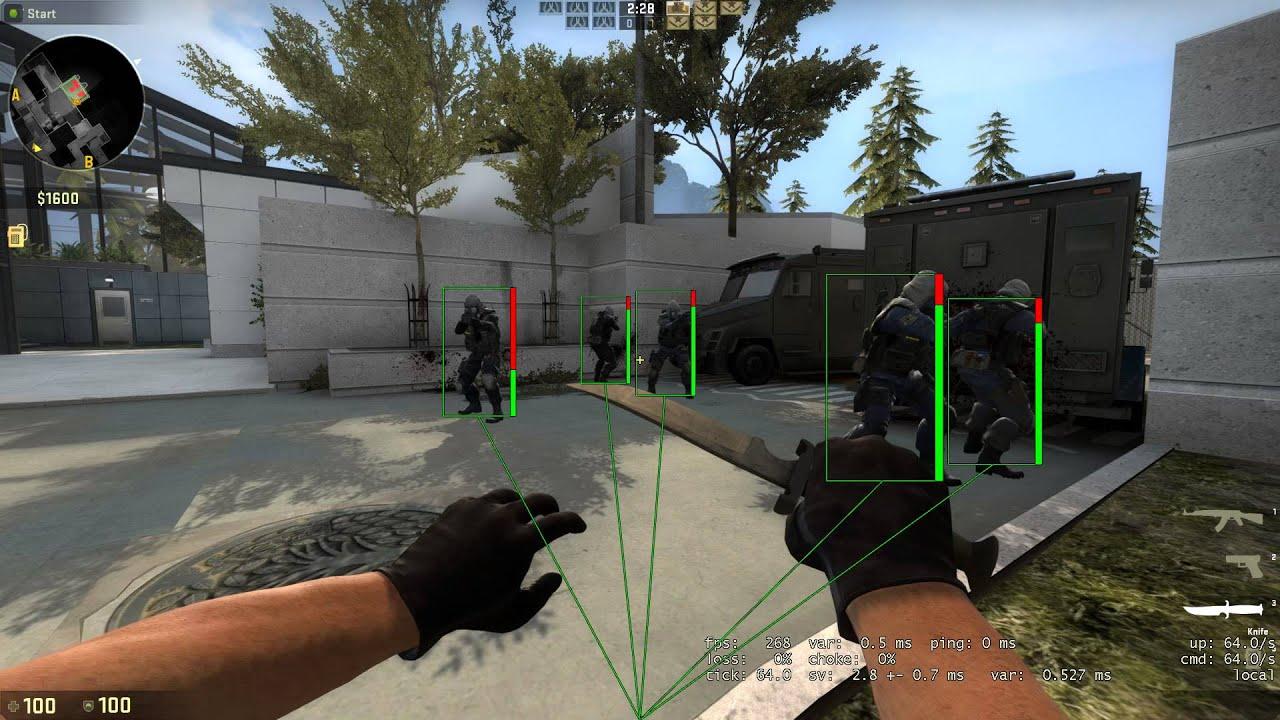 Release] CS:GO OpenGL Overlay ESP *BOX/SNAP LINES/BONES/HEALTH BAR