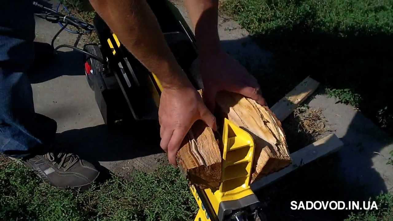 Как сделать дровокол / log splitter - YouTube