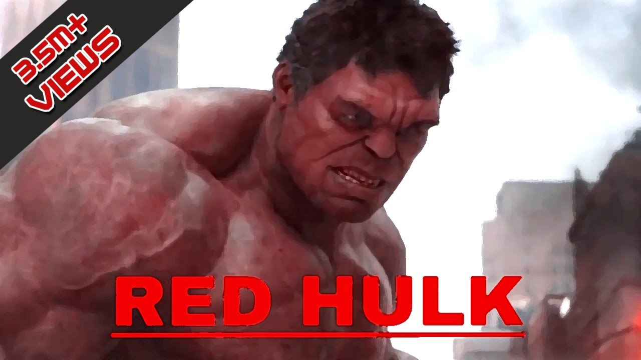 Red Hulk | Avengers 4 | Edited Review Hulk Mix trailer ...