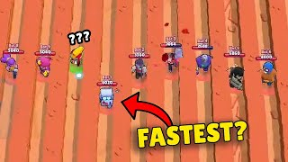 WHO IS FASTEST?! Brawl Stars OLYMPICS | Funny Moments, Glitches & Fails #116