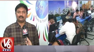RV Tours & Travels Director Ramana Speaks About Travel Expo 2019 | Hyderabad | V6 News