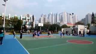2014-2015 中學校際籃球比賽 第三組 (九龍二區) 女子組 德貞 vs 滙知