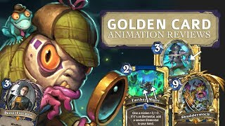 Golden Card Animation Reviews - Hearthstone Witchwood