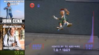 Razor Freestyle Scooter Speedrun (2:10.39)