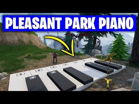 Fortnite 'Play The Sheet Music At The Piano Near Pleasant Park' LOCATION/GUIDE (Week 6 Challenges)