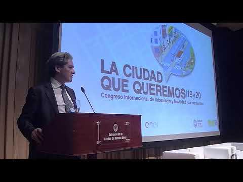 """<h3 class=""""list-group-item-title"""">Congreso Internacional de Urbanismo y Movilidad: Palabras de Kristtian Rada</h3>"""