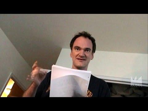 """Quentin Tarantino reads a draft of """"Kill Bill"""" to Robert Rodriguez (2001)"""