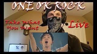 Download Lagu ONE OK ROCK - Take What You Want [Live] Reaction mp3