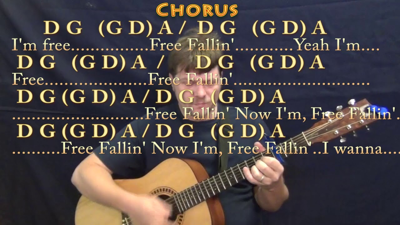 Free fallin tom petty guitar cover with chordslyrics capo free fallin tom petty guitar cover with chordslyrics capo 3rd d g a hexwebz Image collections