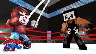 Minecraft: MENINO ARANHA - LUTA LIVRE NA JAULA! #05