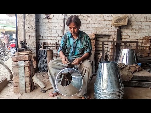 Making of a Metal Bucket You Have Never Seen Before