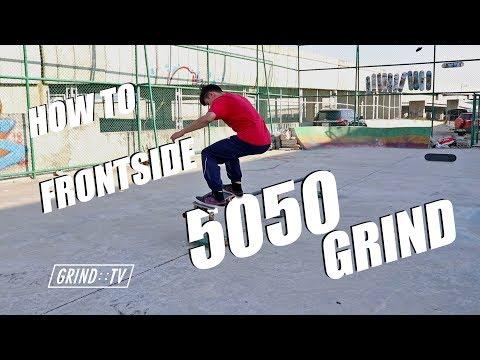 GRIND TV : น้องเก่งจาก เดอะวอยซ์ How To Frontside 50-50 Grind