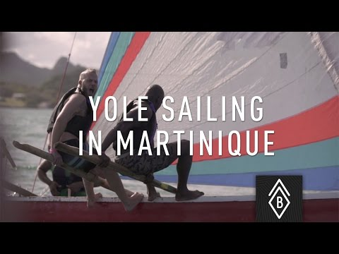 Yole Sailing on Martinique's Caribbean Coast - Ep 1/4