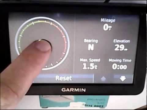 Garmin gps lost satellite reception