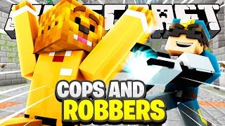 Minecraft Mini-Game: COPS AND ROBBERS GRAVITY GUN