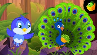 Chu Chu Karti Aayi Chidiya - Hindi Animated/Cartoon Rhymes For Kids