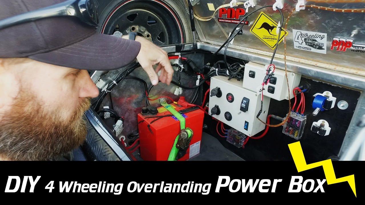 DIY Electrical Overland Box - YouTube