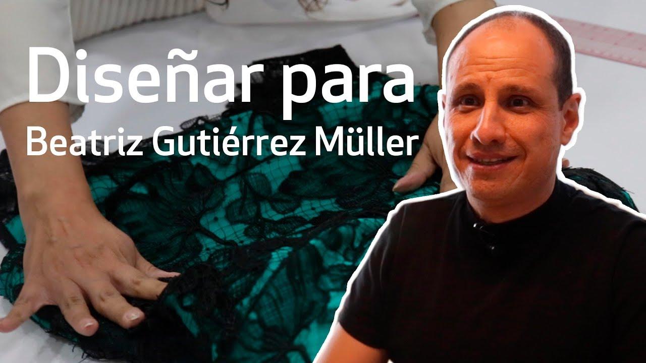 él Es ángel Mussi Creador Del Vestido De Beatriz Gutiérrez Müller