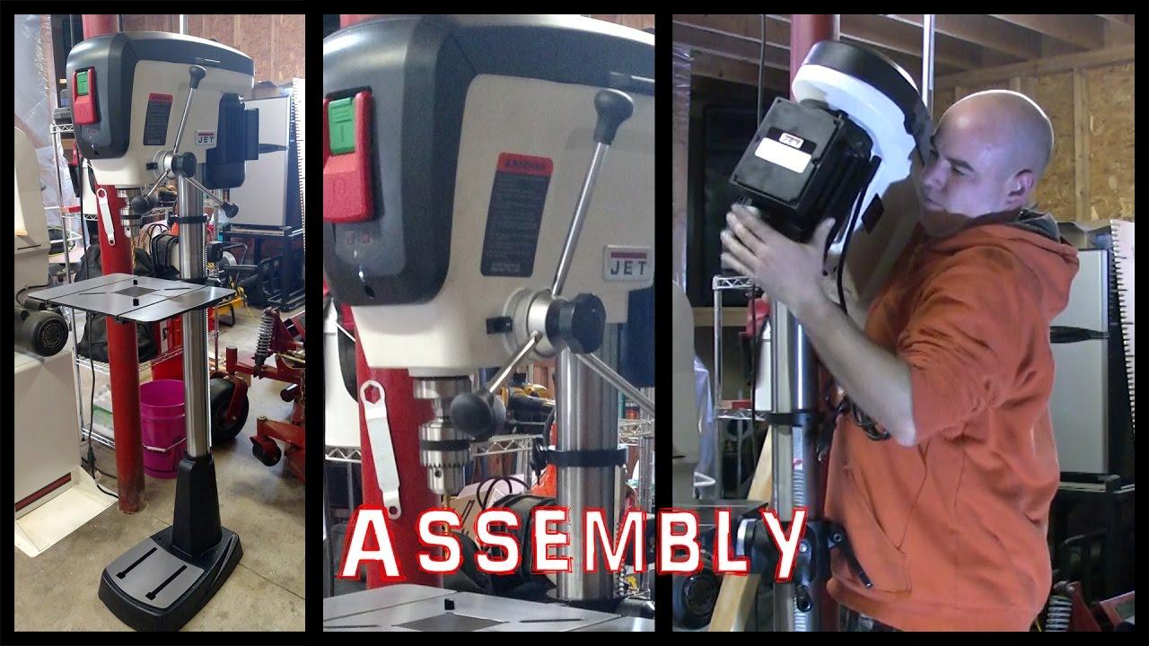 Drill Press Assembly JET JDP-17