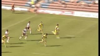 Brent Grose try Warrington  v Widnes 2005