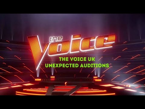 The Voice Masterpiece  Unexpected Auditions in The Voice UK