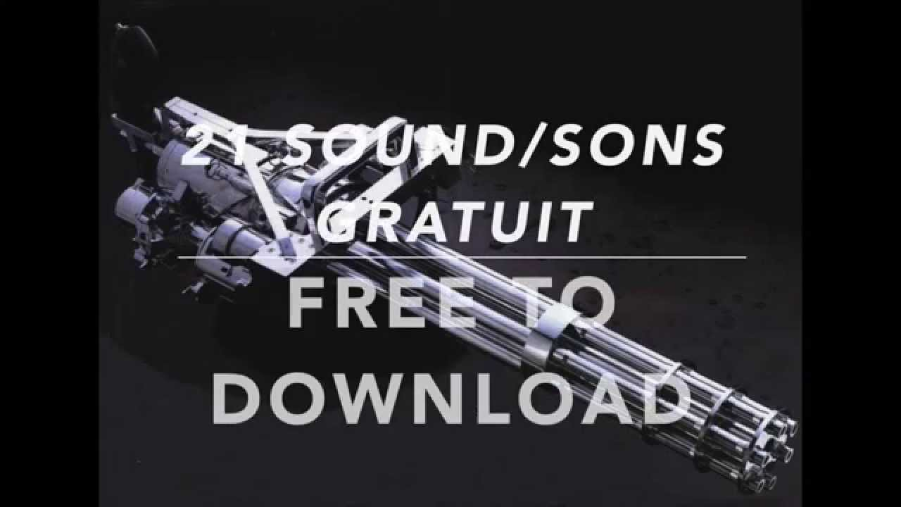 machine gun sound effects free