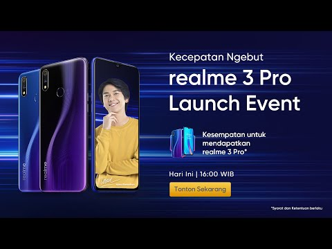 realme 3 Pro | Indonesia Launching Event.