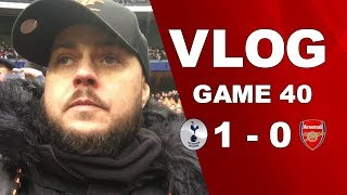 SPURS v ARSENAL - TACTICS WERE ALL WRONG AS PER USUAL - MATCHDAY VLOG