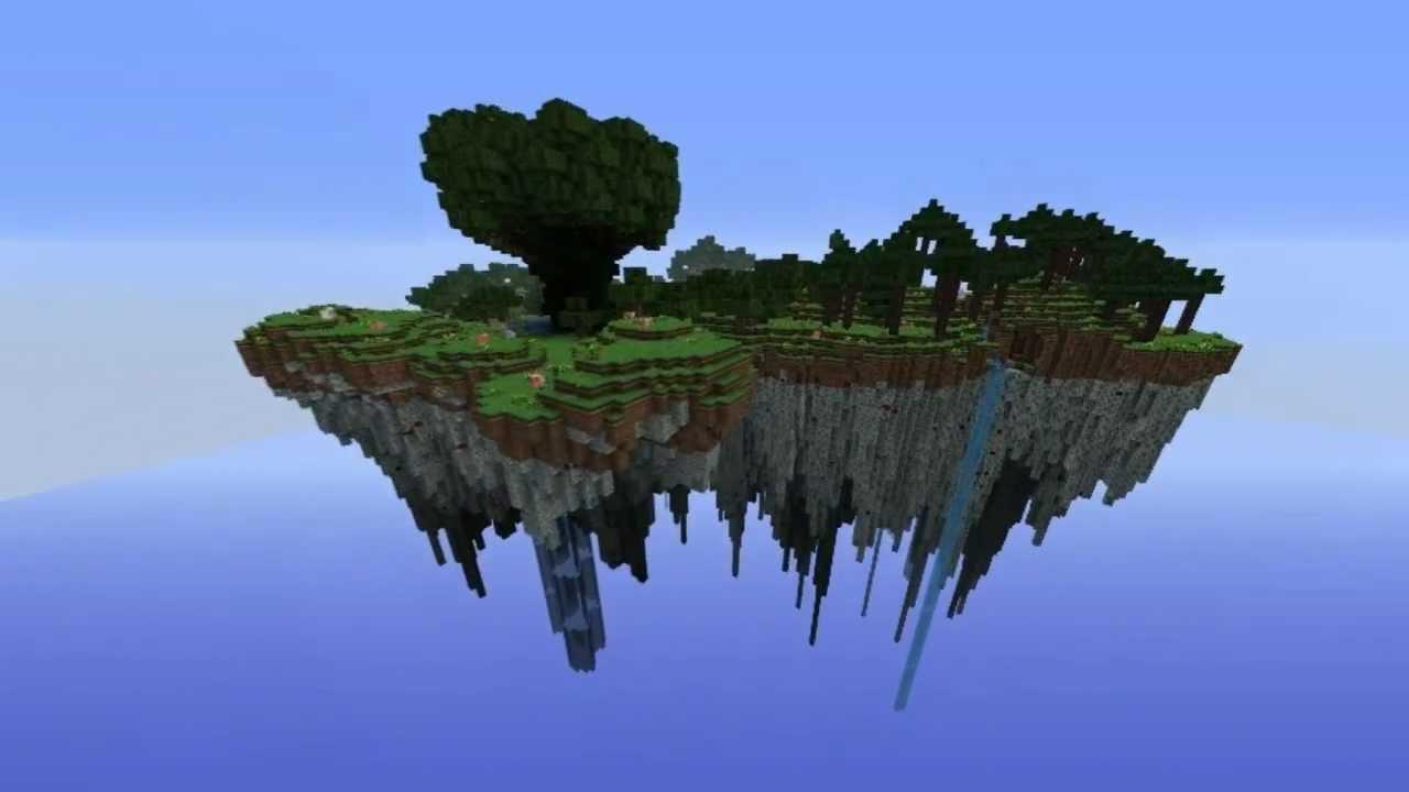Картинки по запросу minecraftfloating island