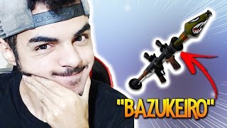 * BAZUKEIRO * NEM É GENTE HAHA! FORTNITE BATTLE ROYALE (BR)-Softe