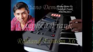 Piano Demo by Stephen Frank    Roland Fantom X6