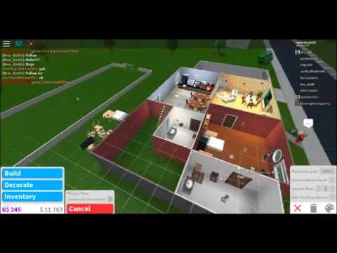 Roblox Bloxburg How To Make A 2nd Floor Youtube