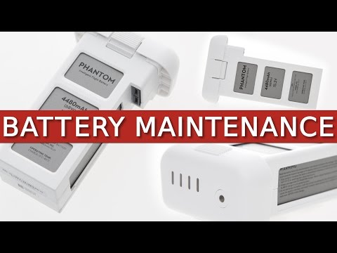 Phantom 3 + 4 | Battery Maintenance, Storage & Information