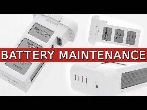 Phantom 3 + 4 | Battery Maintenance, Storage & Information