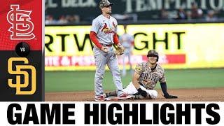 Cardinals vs. Padres Game Highlights (5/16/21)   MLB Highlights