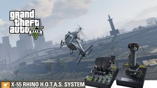 GTA V PC working with Saitek X-55 Rhino Flight Stick