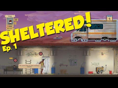 DE FØRSTE DAGE - Sheltered Ep. 1 - [Dansk Gameplay]