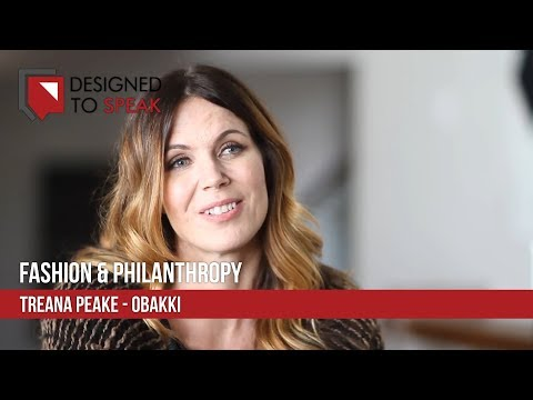 Designed To Speak - Fashion and Philanthropy - Treana Peake