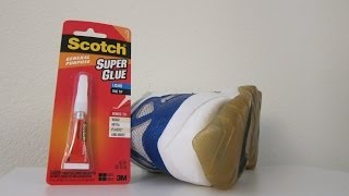 Product Review: Fixing Sole Separation With Super Glue!