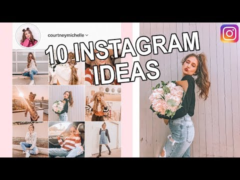 10 Instagram Picture Ideas!!! (& How To Pose)